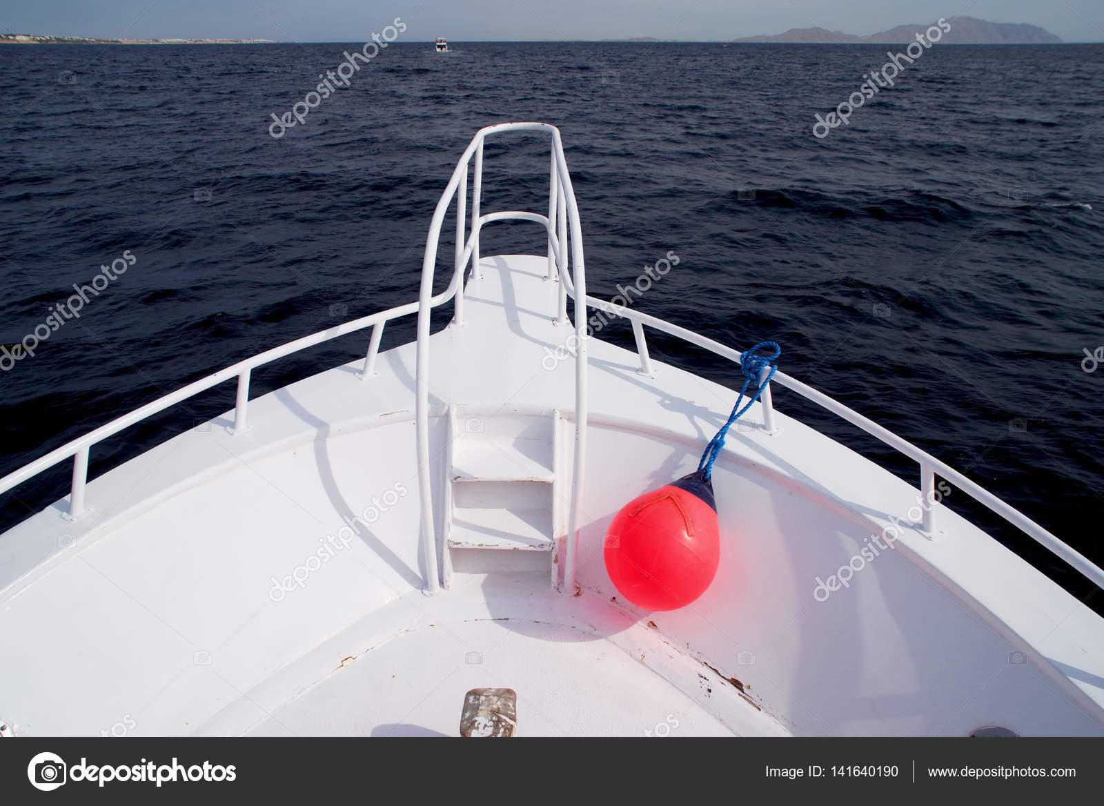 fören på en båt