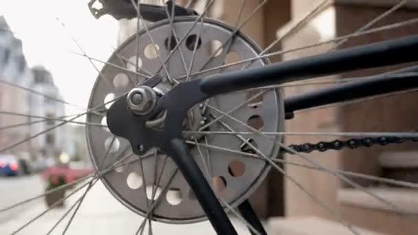 Vértes tónusú felvételeket a rokka régi kerékpár