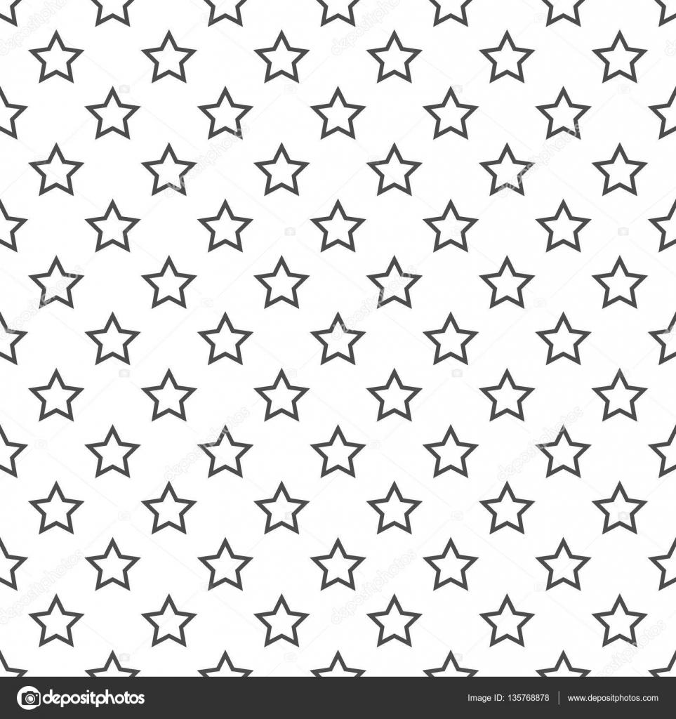 Nahtlose Muster Von Sternen Zusammenfassung Hintergrund