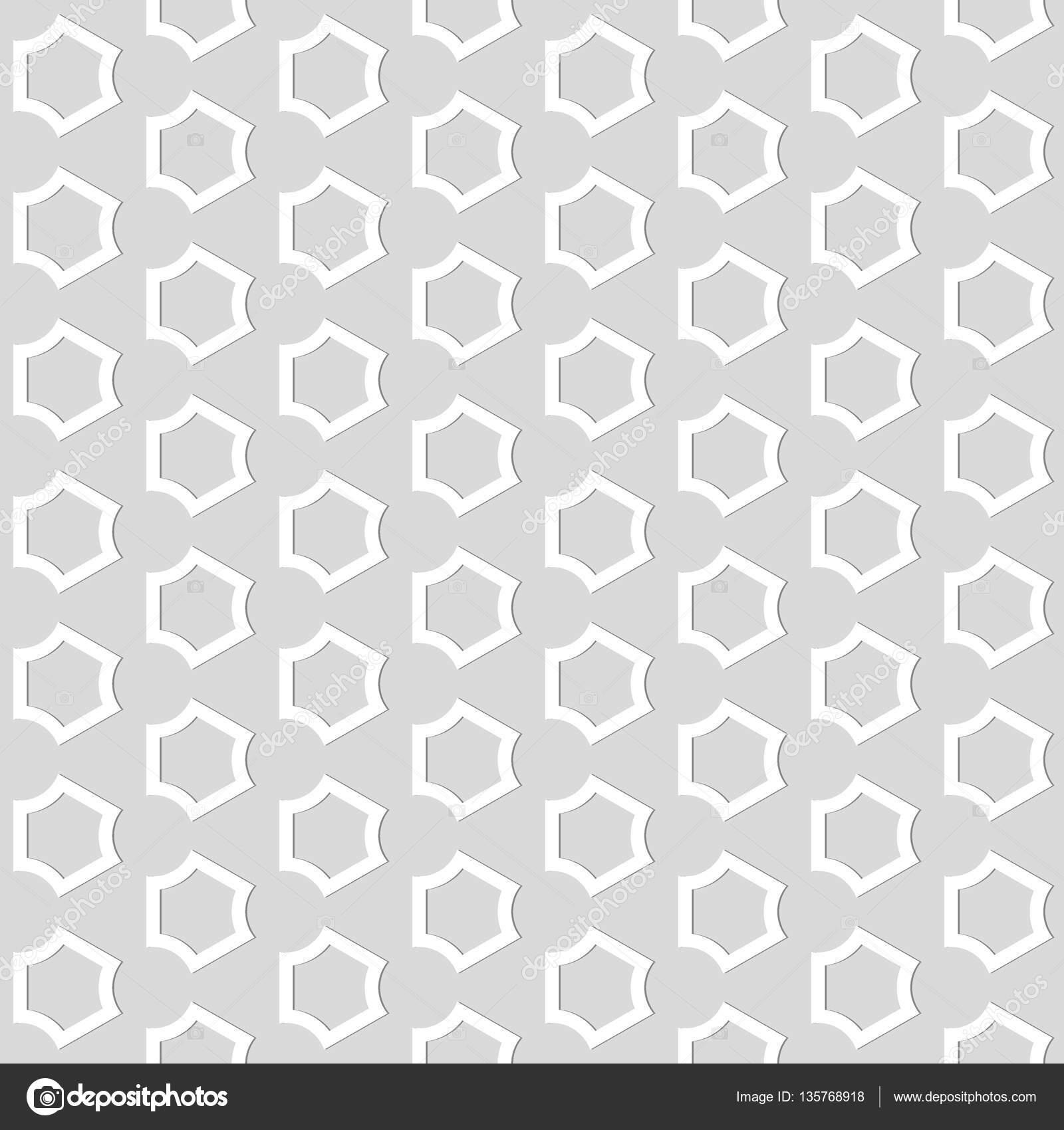 Nahtlose Muster Formen Zusammenfassung Hintergrund Stockvektor