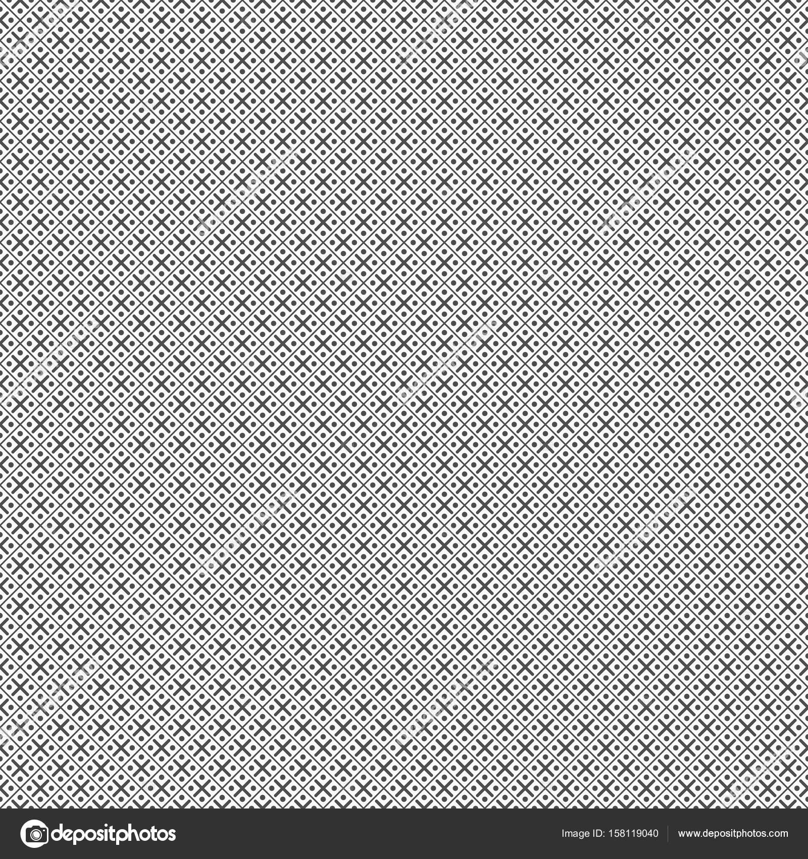 Modele Sans Couture De Points Et De Lignes Papier Peint Geometrique