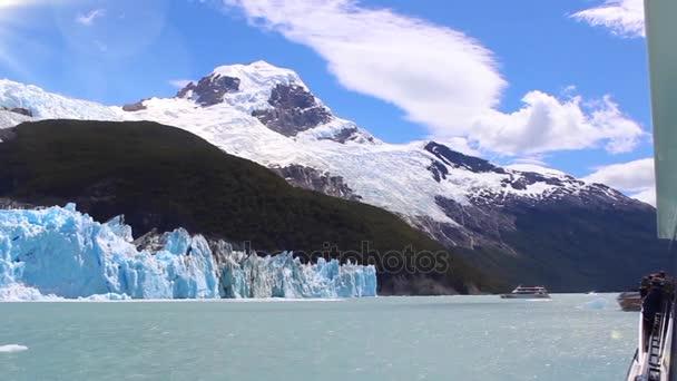 Spegazzini Glacier on Argentino Lake (Lago Argentino), Los Glaciares National Park, Santa Cruz Province, Patagonia, Argentina.