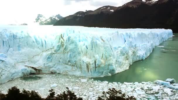 Perito Moreno Glacier, near El Calafate, in Argentina.