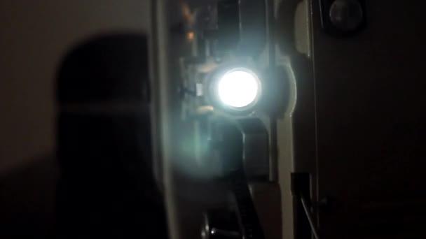 starý filmový projektor