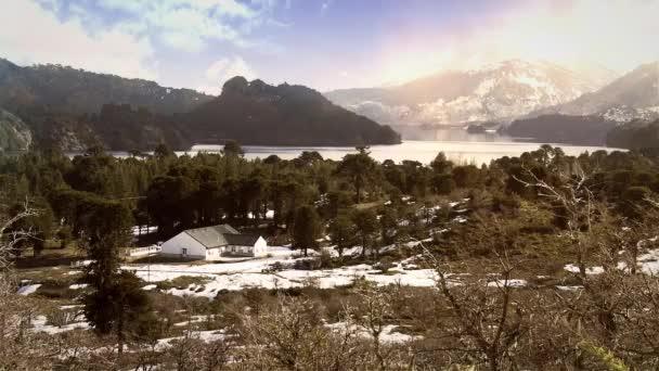 Beautiful School In The Cordillera De Los Andes