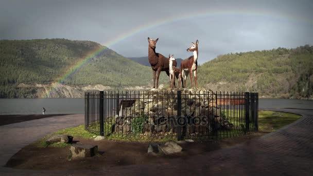 Rainbow In San Martin De Los Andes, Argentina
