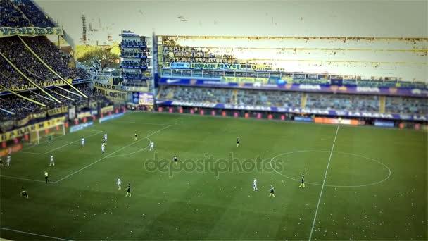 Fotbalové utkání v La Bombonera