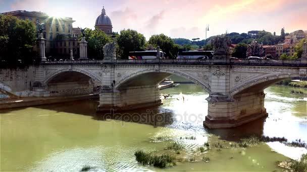 Roman bridge in Rome