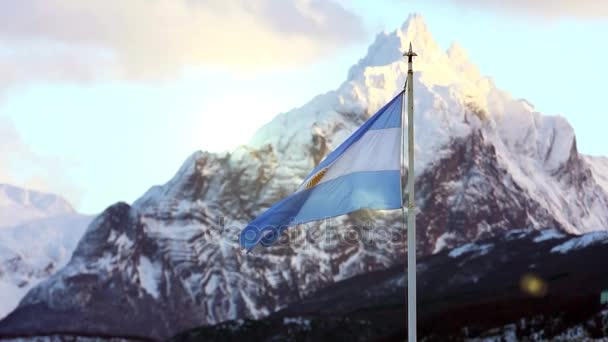 Argentina Flag in Ushuaia