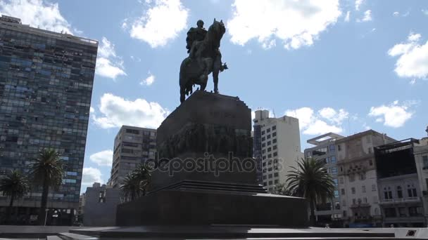 Monumento a Artigas, a Montevideo, Uruguay