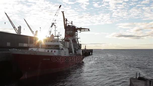Harbour of Puerto Madryn, Argentina