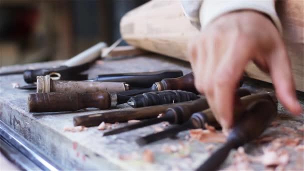 Nástroje dřevěná dílna
