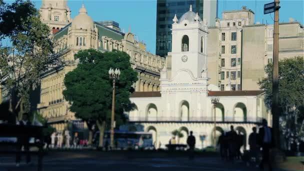 The Buenos Aires Cabildo.  Filmed 20 May, 2014. Buenos Aires Argentina.