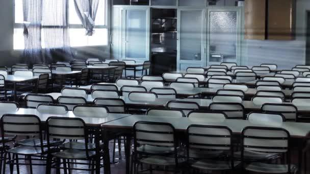 Üres iskolai tanteremben, Argentínában