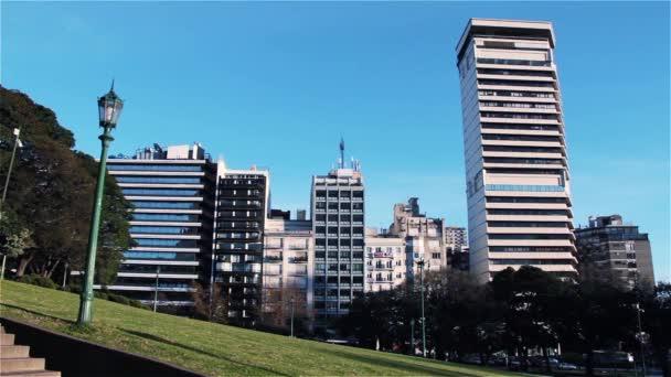 Buildings of Plaza San Martin, in Retiro, Buenos Aires