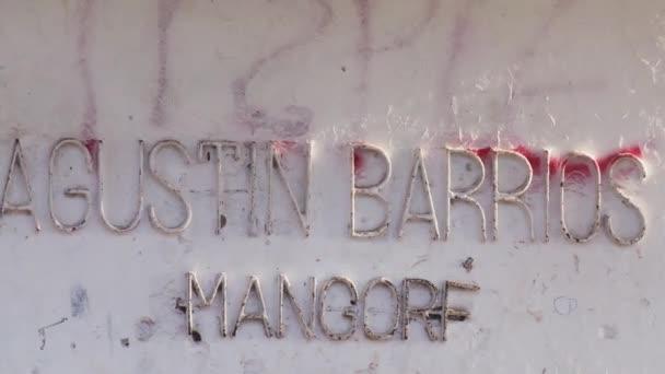 Socha Agustina Barriose Mangora v Asunciónu (Paraguay).