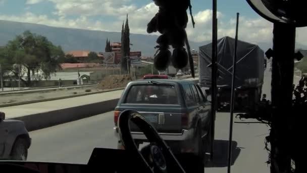 Quillacollo Cochabamba Bolivia 2019 City Quillacollo Cochabamba Bolivia Seen Window Stock Video C Messiland 365899486