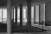 Photo Northwestern University building wall