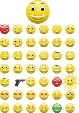 schrecklich lustige Emoticons and Emojis