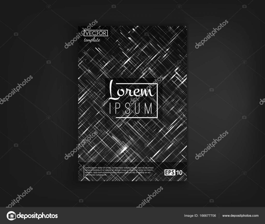 Brochure De La Couverture Conception Carte Postale Isol Objets Requte Fond 2D Futuristes Affiche Flyer Visite Et Autres Vos