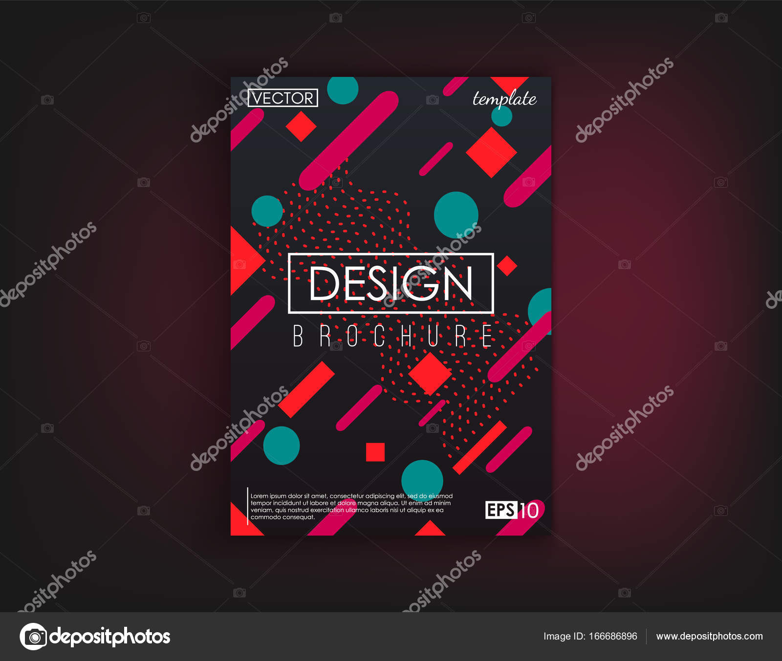 Brochure cover design cards isolated dynamic fashion flat design brochure cover design cards isolated dynamic fashion flat design poster banner flyer poster business card and other your projects reheart Gallery