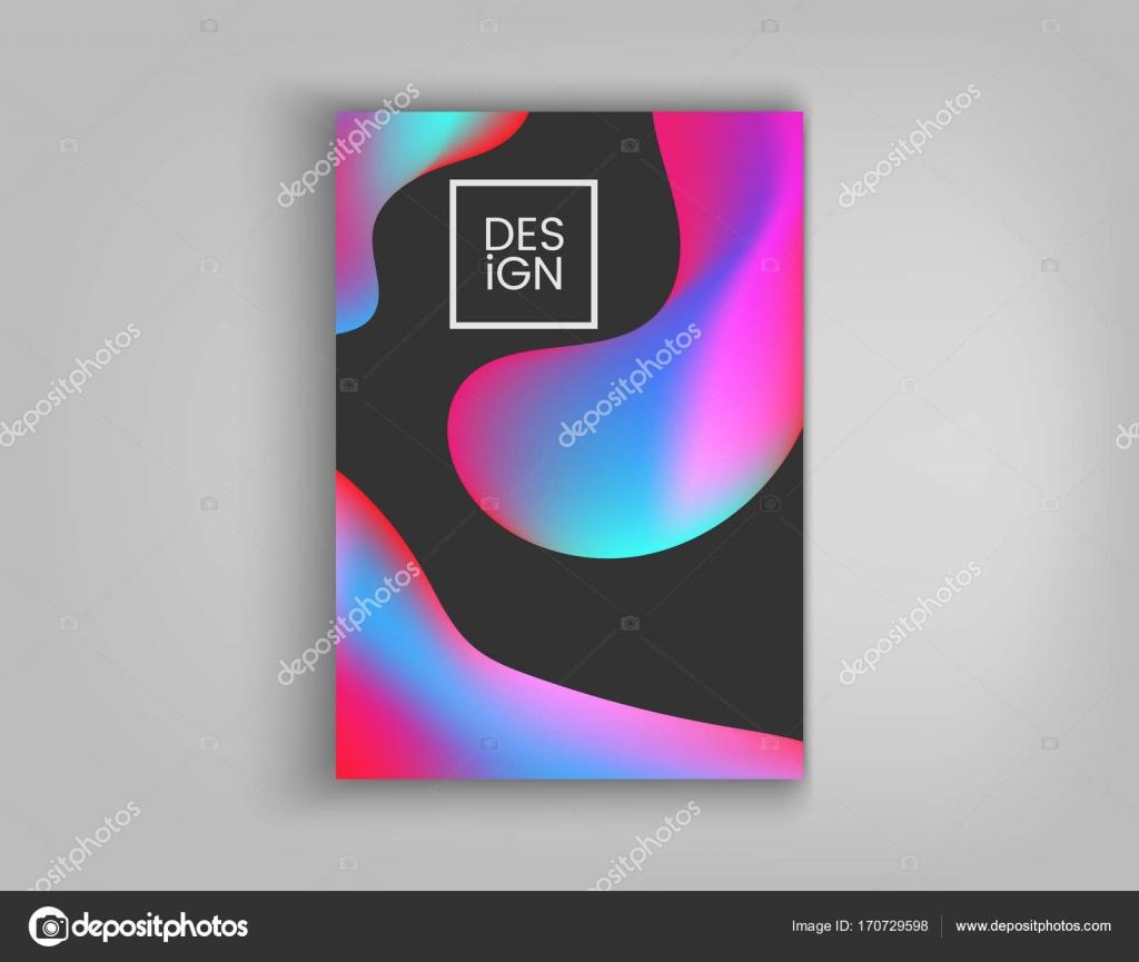 Brochure De La Couverture Conception Cartes Isoles Design Plat Faon Dynamique Affiche Bannire Flyer Carte Visite Et Bien Dautres