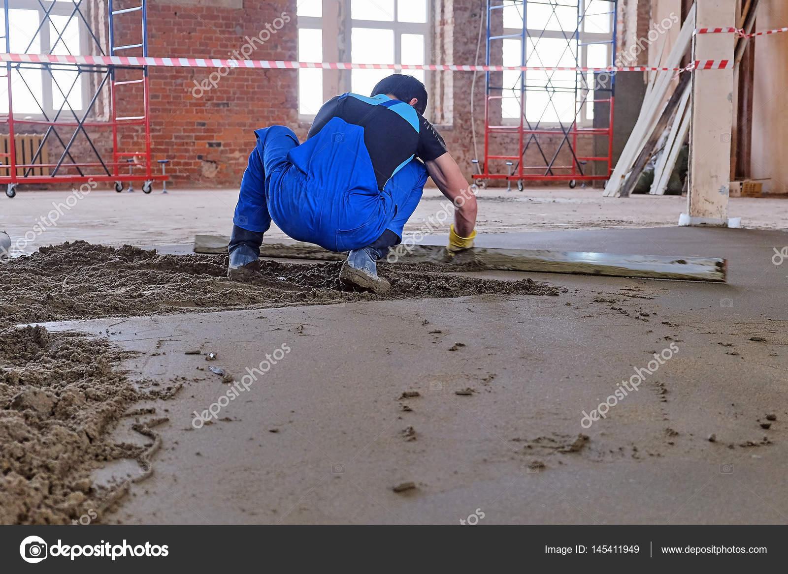 Der Betonboden Giessen Stockfoto C Seroma 72 Mail Ru 145411949