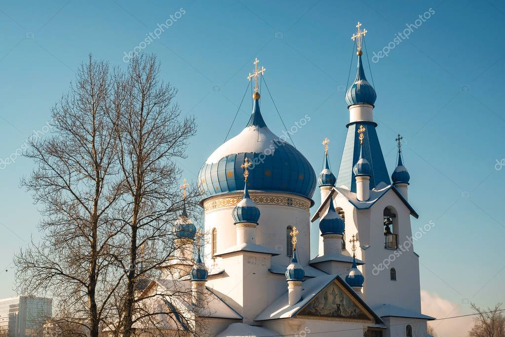 Church of St. Sergius of Radonezh in St. Petersburg