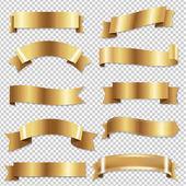 Goldene Bänder set