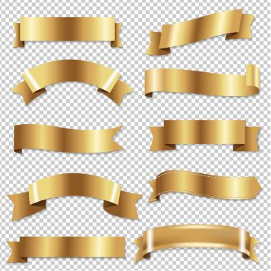 Golden Ribbons Set