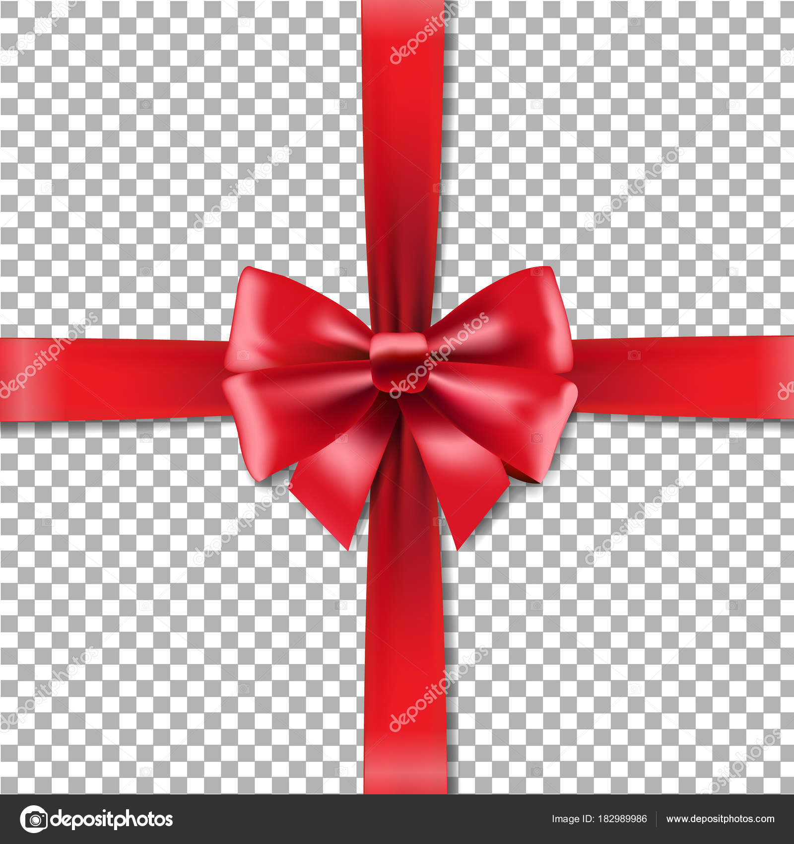 Red gift ribbons bow checkered background vector illustration red gift ribbons bow checkered background vector illustration stock vector negle Image collections