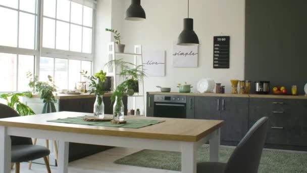 Belső tér modern stílusos konyha
