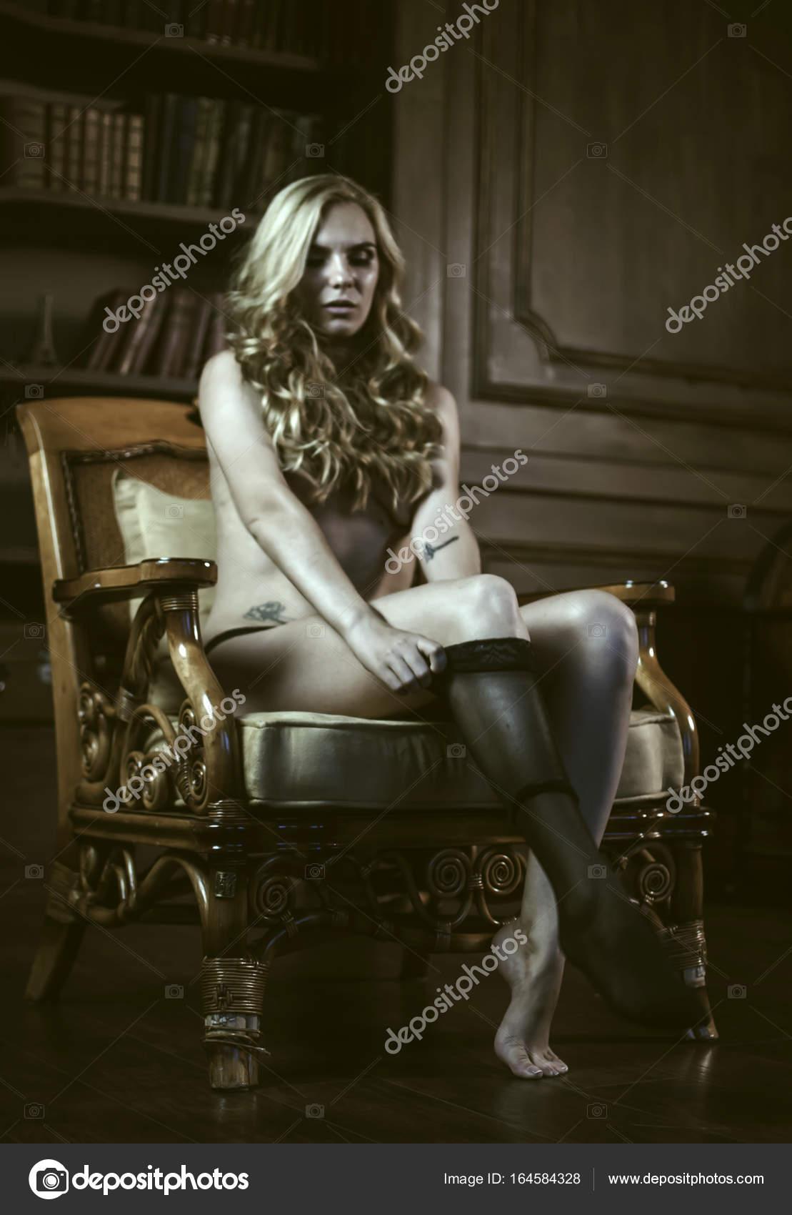 0c4b4f4c0 gorgeous woman wearing stockings — Stock Photo © FoxCamPhoto  164584328
