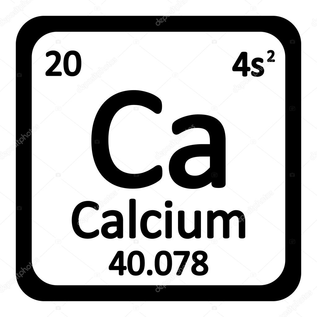 Periodic table element calcium icon stock vector konstsem periodic table element calcium icon stock vector urtaz Gallery