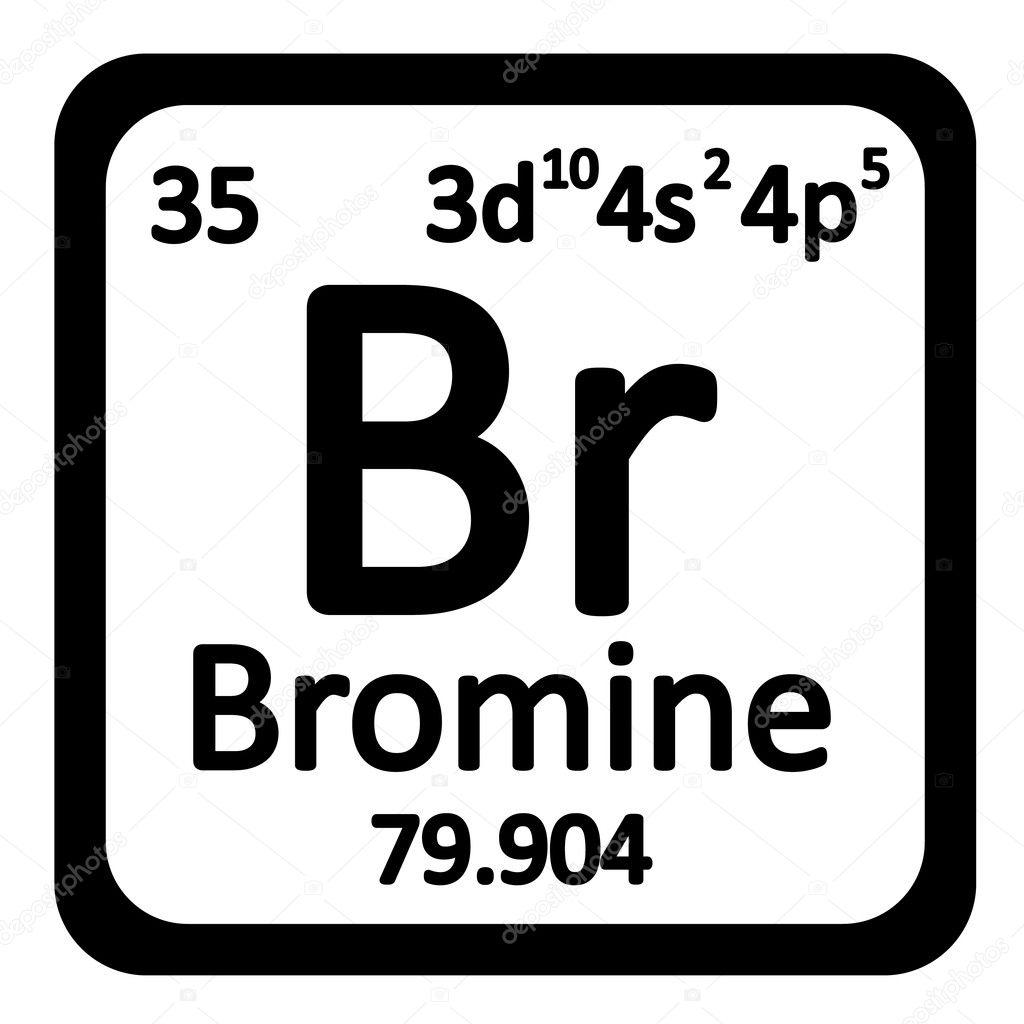 Icono de tabla periodica elemento bromo archivo imgenes icono de tabla periodica elemento bromo archivo imgenes vectoriales urtaz Image collections