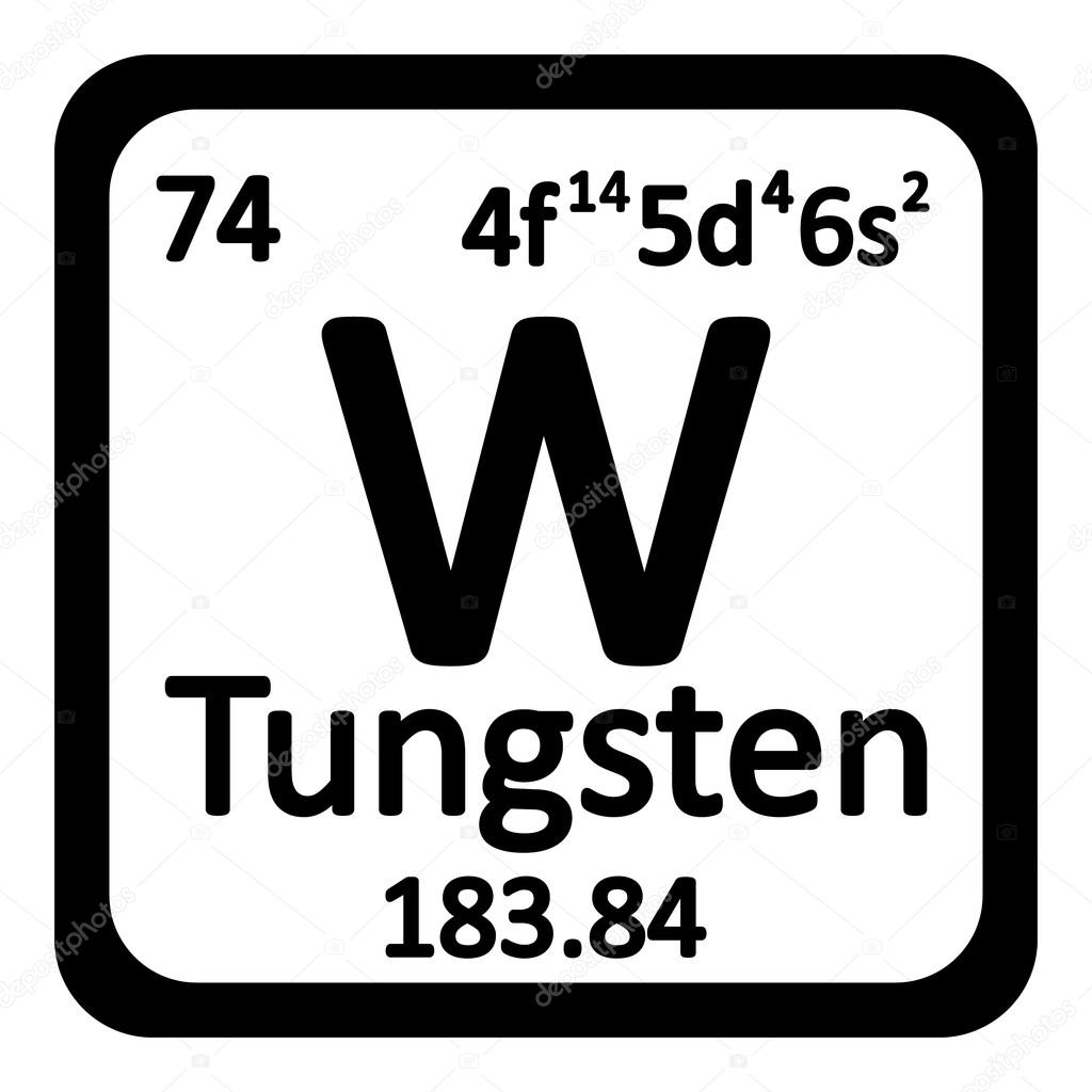 Periodic table element tungsten icon stock vector konstsem periodic table element tungsten icon on white background vector illustration vector by konstsem gamestrikefo Gallery