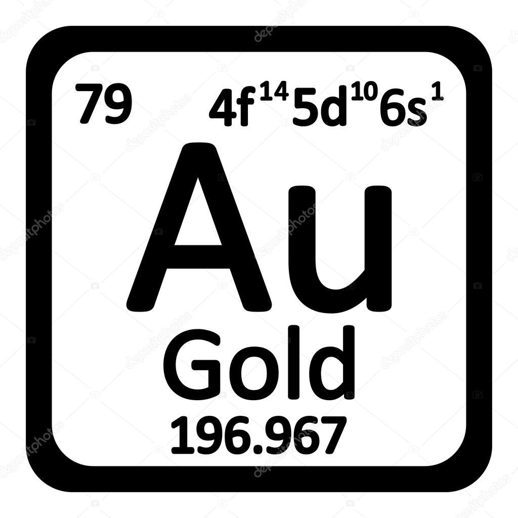 Icono de elemento oro tabla peridica archivo imgenes vectoriales icono de elemento oro tabla peridica archivo imgenes vectoriales urtaz Images