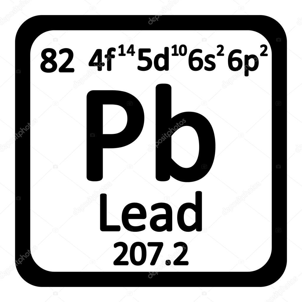 Periodic table element lead icon stock vector konstsem 126995532 periodic table element lead icon stock vector urtaz Choice Image