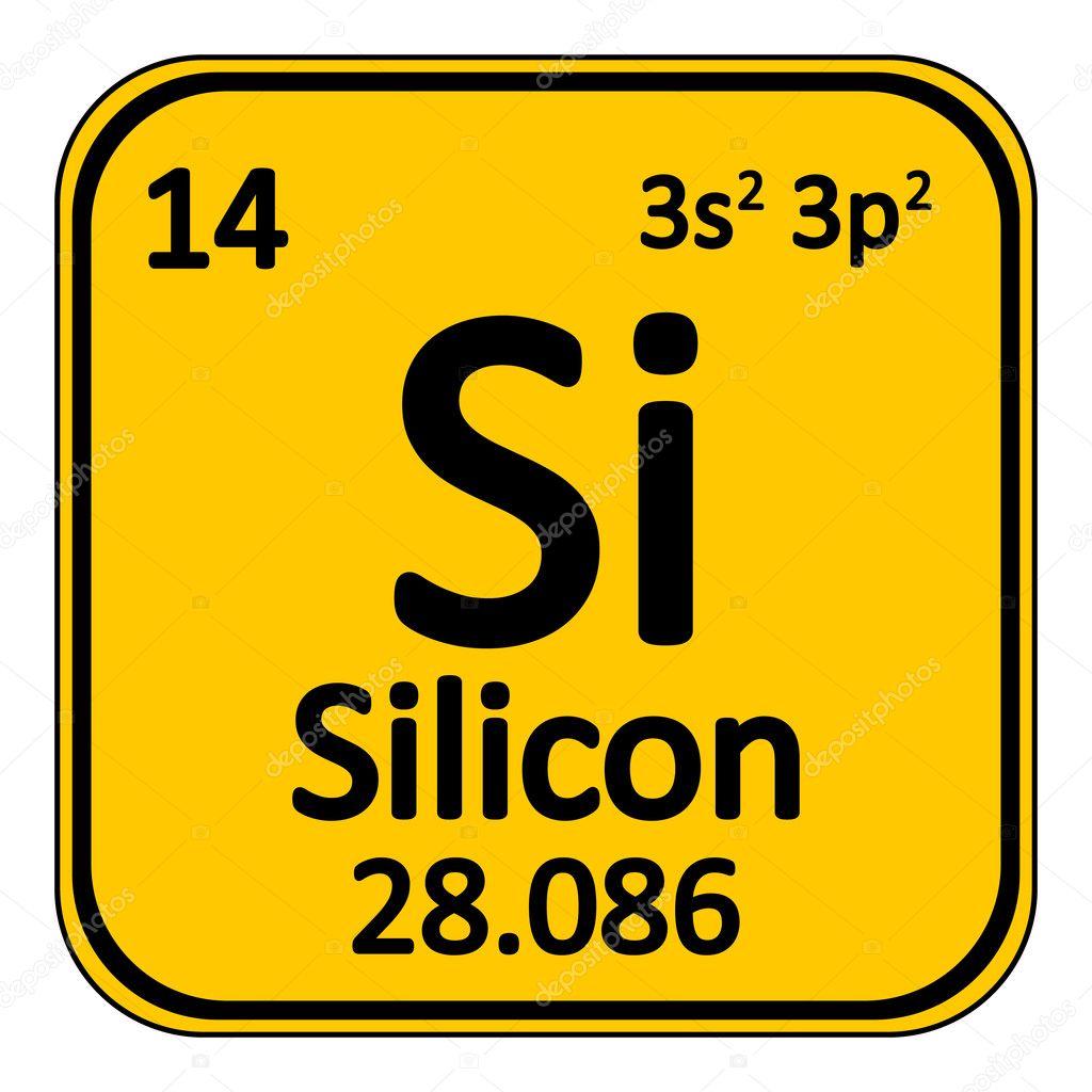 Resultado de imagen para silicio tabla periodica