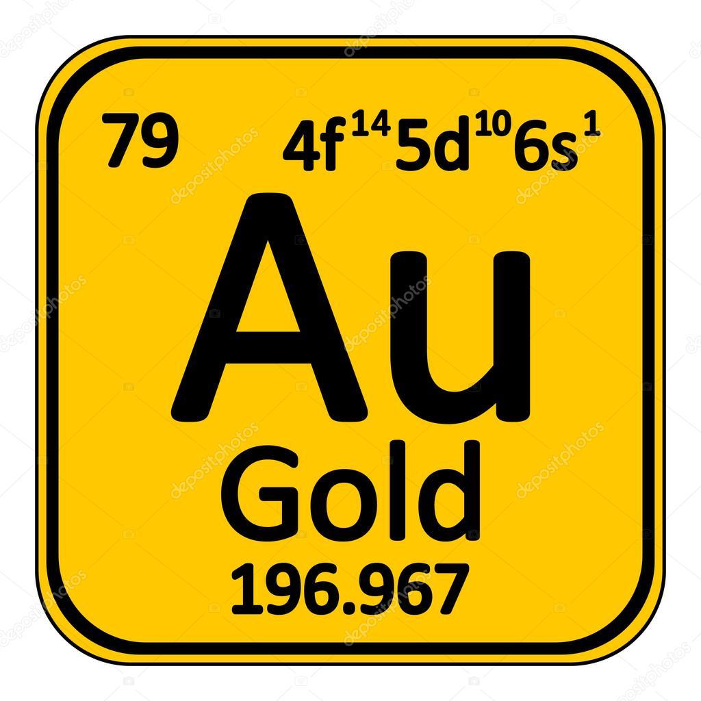 Icono de elemento oro tabla peridica archivo imgenes vectoriales icono de elemento oro tabla peridica archivo imgenes vectoriales urtaz Image collections