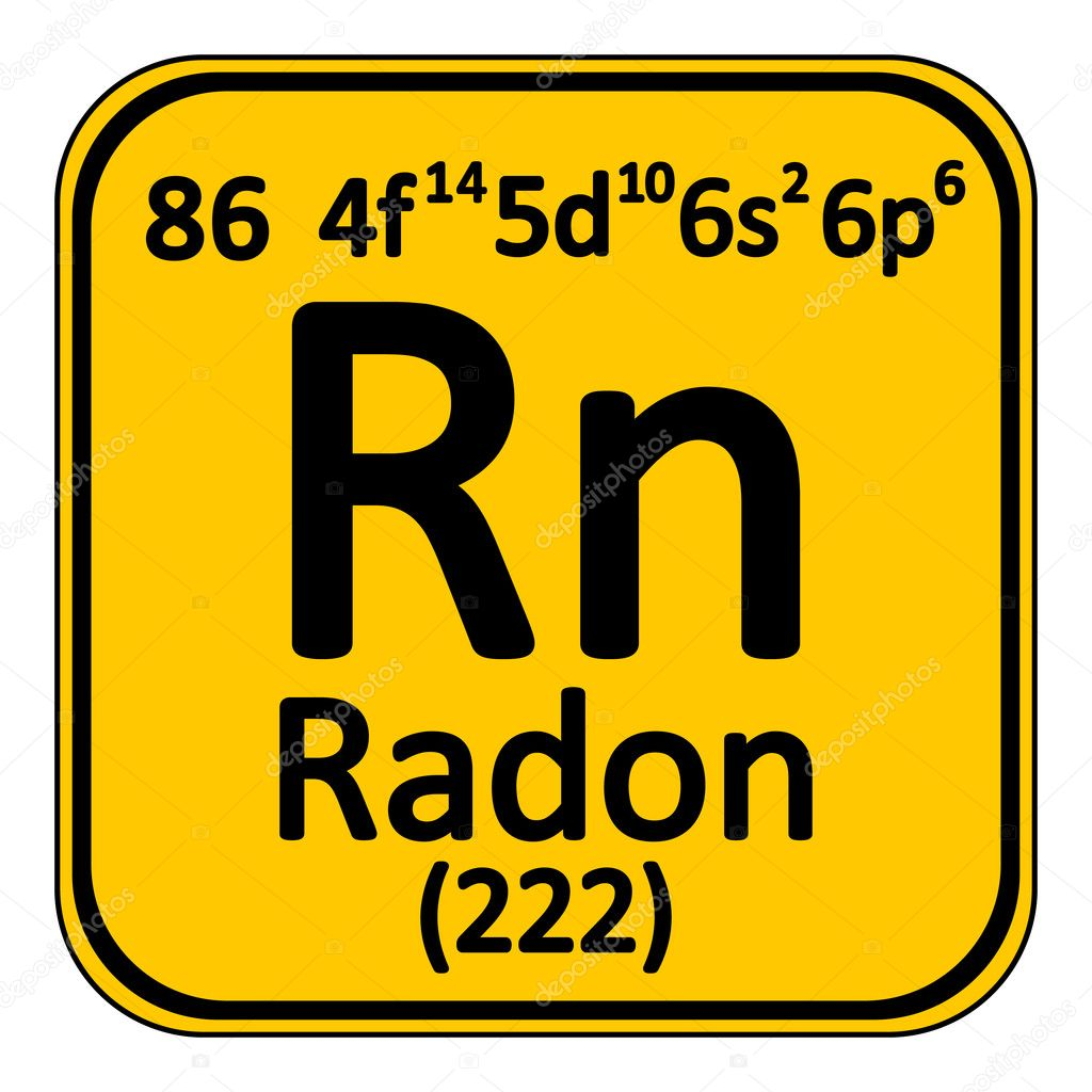 Element 86 periodic table choice image periodic table images periodic table element radon icon stock vector konstsem periodic table element radon icon on white background gamestrikefo Image collections