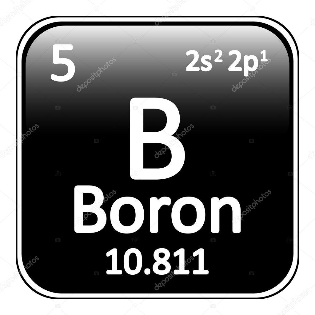 Icono de tabla periodica elemento boro vector de stock icono de tabla periodica elemento boro vector de stock urtaz Image collections