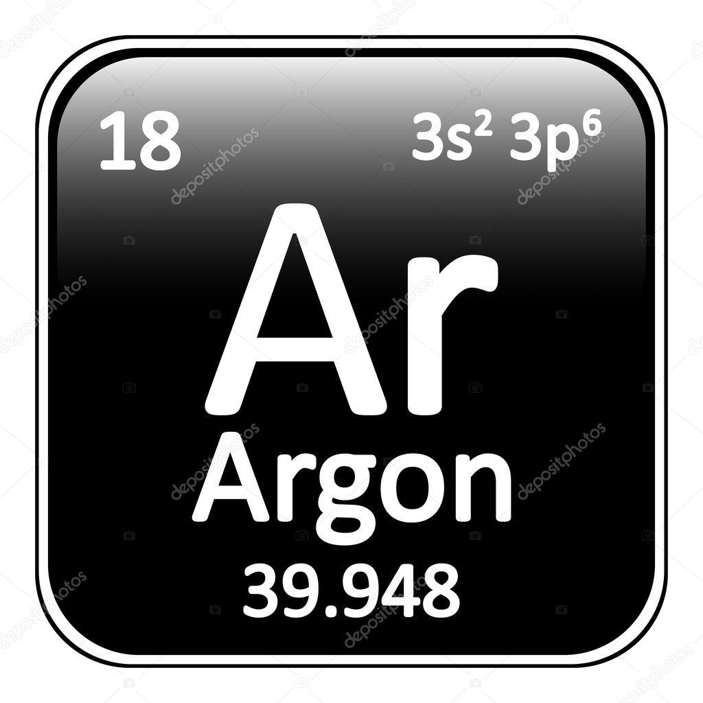 Periodic table element neon icon stock vector konstsem 128104366 periodic table element neon icon stock vector urtaz Choice Image