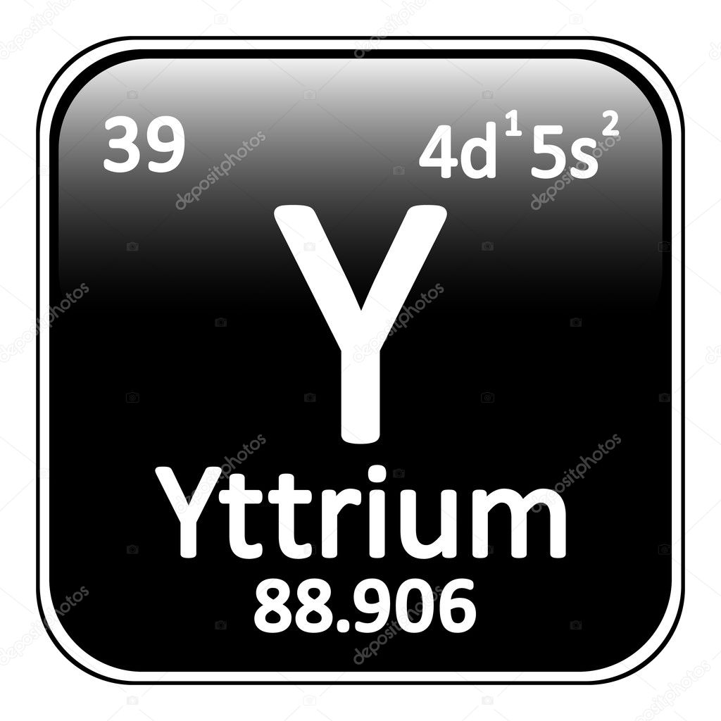 Periodic table element yttrium icon stock vector konstsem periodic table element yttrium icon on white background vector illustration vector by konstsem urtaz Images