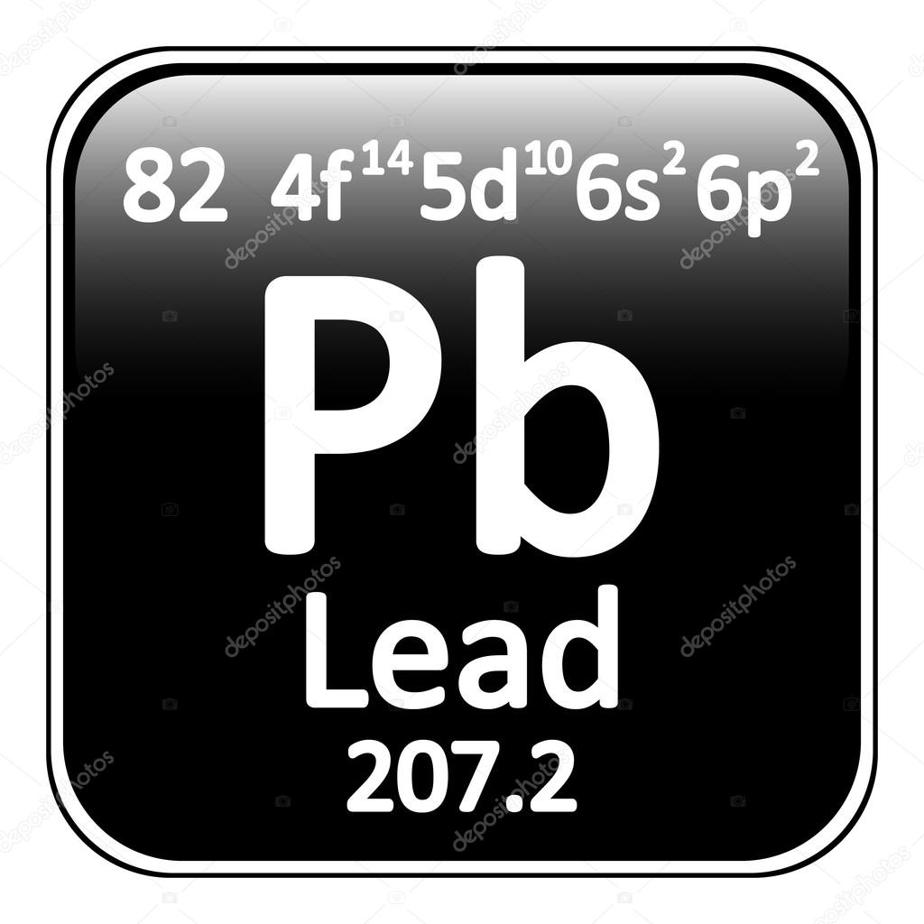 Periodic table element lead icon stock vector konstsem 128255260 periodic table element lead icon on white background vector illustration vector by konstsem gamestrikefo Choice Image