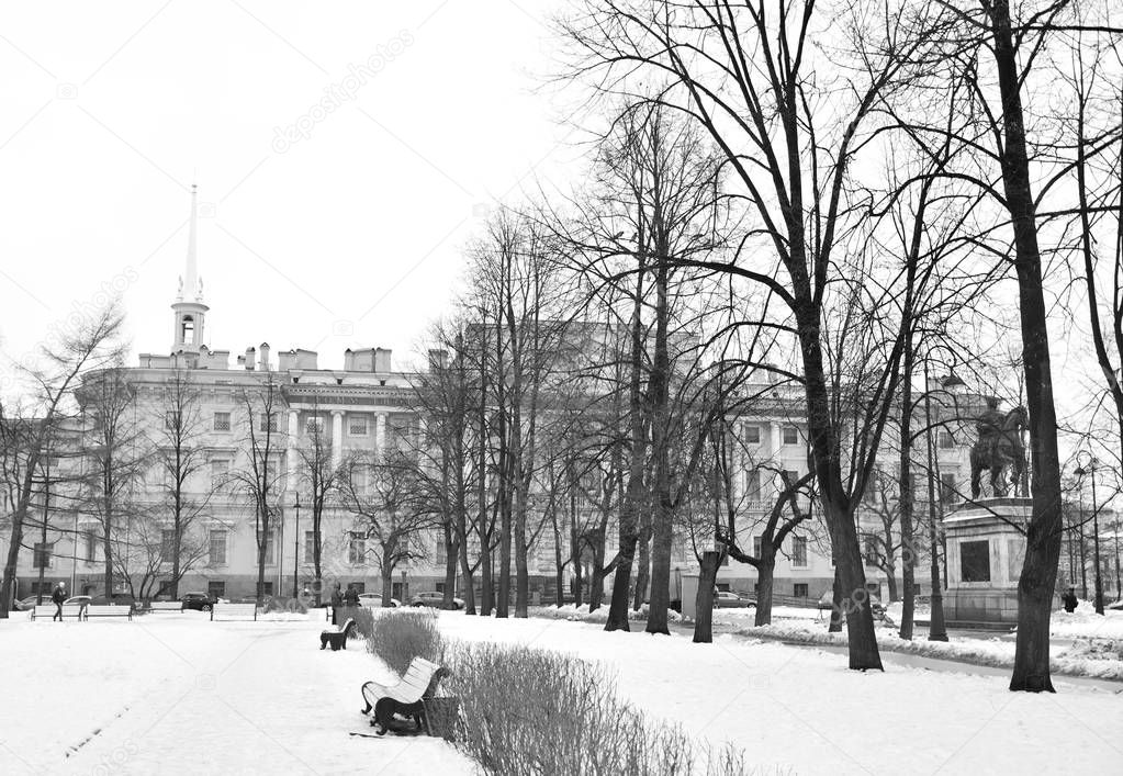 The Mikhailovsky Castle.