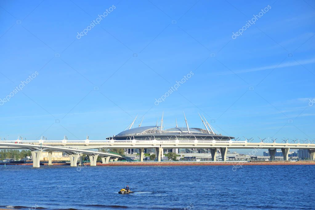 Zenit Stadium in Saint Petersburg.