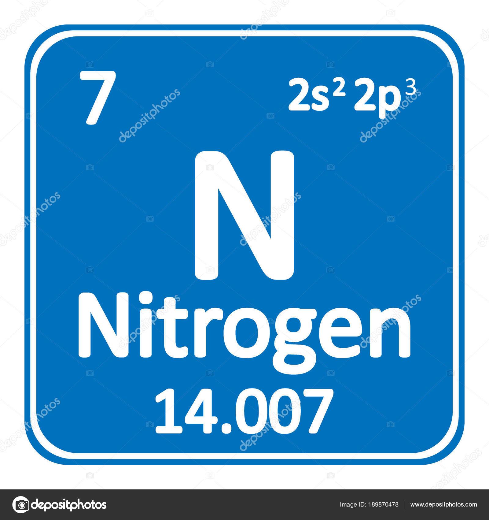 Icono de tabla periodica elemento nitrgeno archivo imgenes icono de tabla periodica elemento nitrgeno archivo imgenes vectoriales urtaz Choice Image