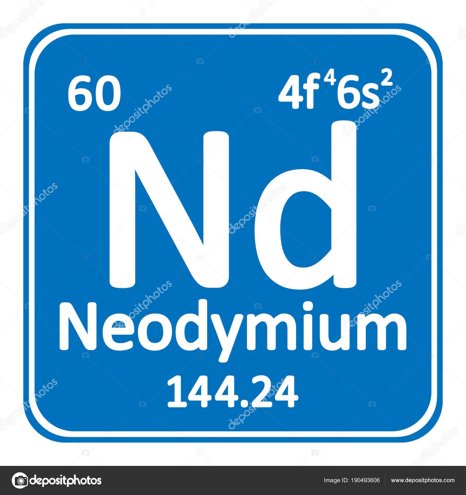 Icono de neodimio de elemento de tabla peridica archivo imgenes icono de neodimio de elemento de tabla peridica archivo imgenes vectoriales urtaz Images