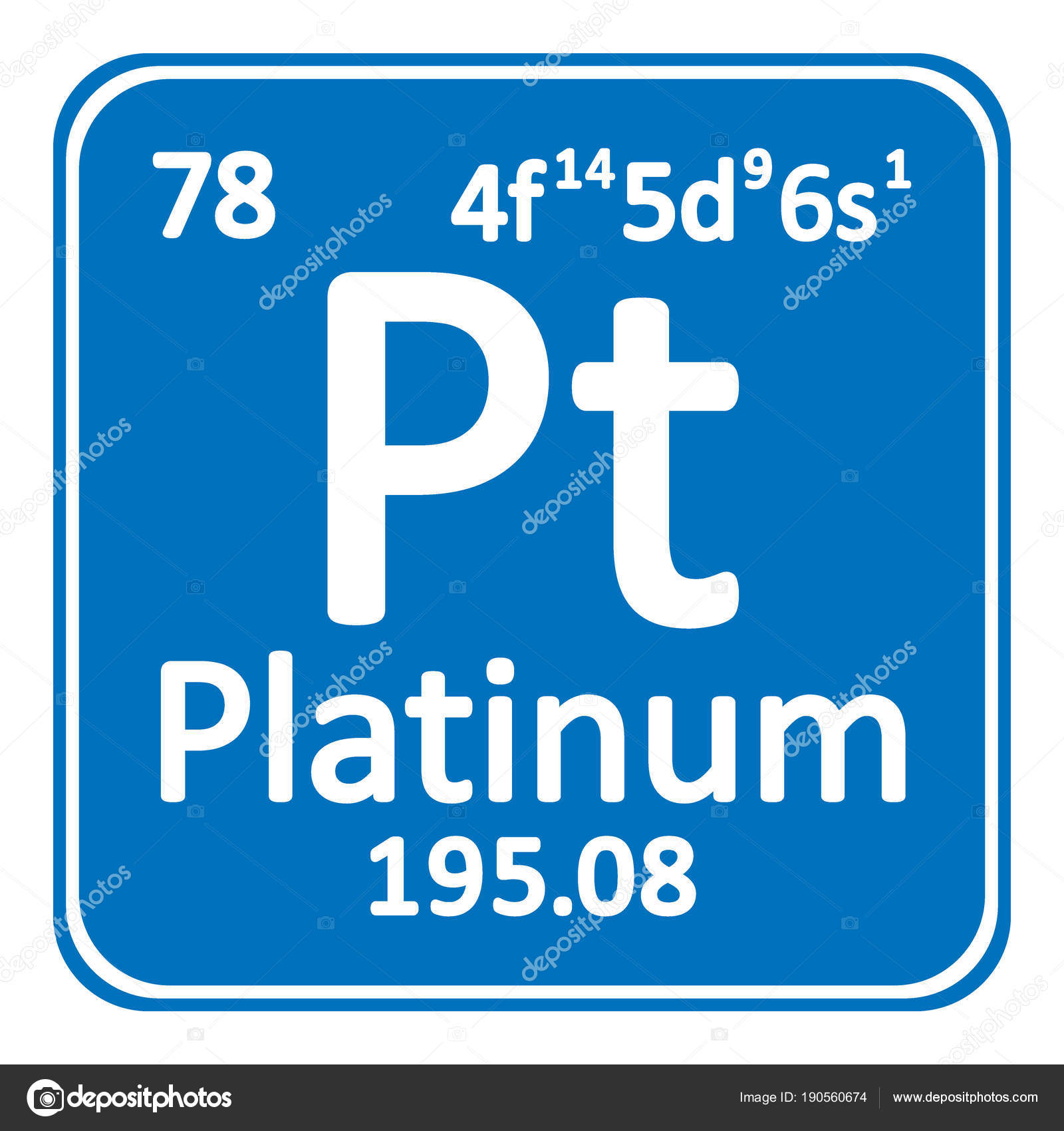 element mesh of items platinum in table the sample a periodic index